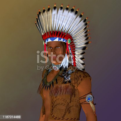 The American Indian is a member of an indigenous civilization that was a hunting and gathering group of people.