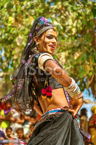 In South Asia culture, hijras or eunuchs are people who have feminine gender identity