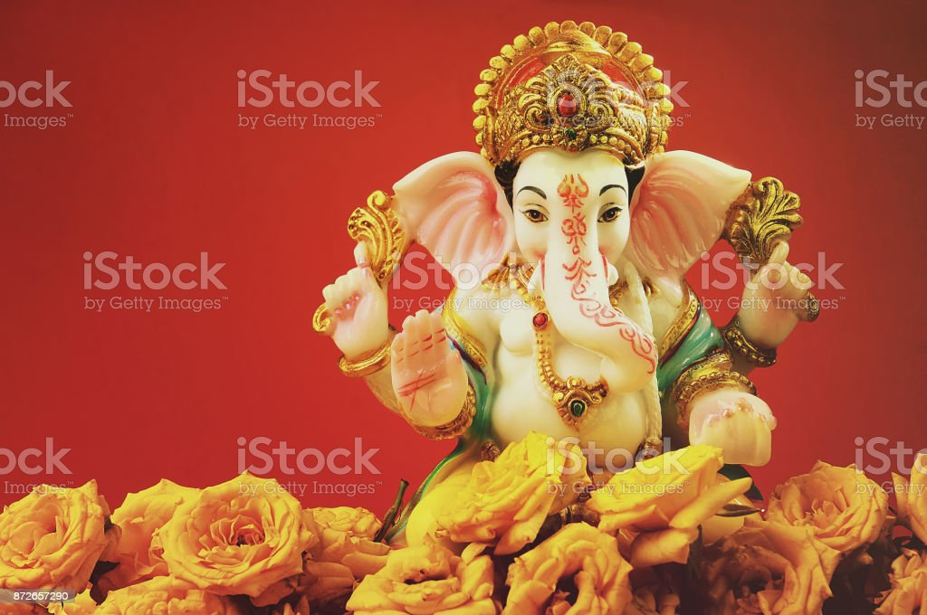 Indian Hindu God Ganesha stock photo