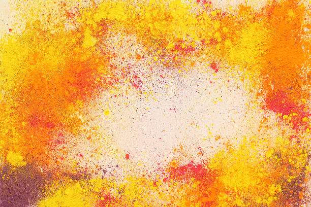 Indian Holi festival de couleurs - Photo