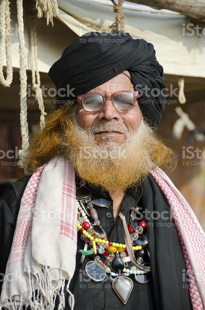 Indian cavalo trader - foto de acervo