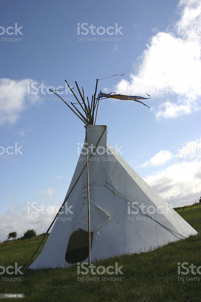 Indian house stock photo