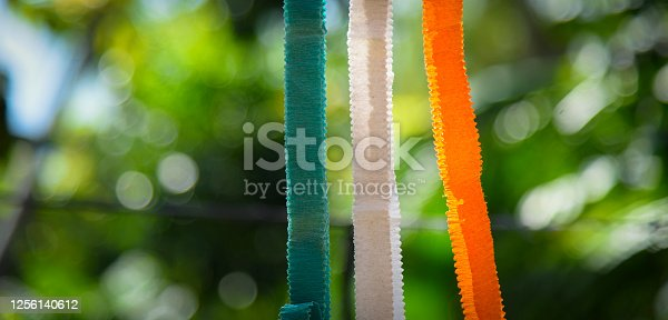 istock Indian Independence Day concept Indian Flag.15 August 1256140612