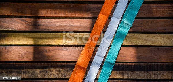 istock Indian Independence Day concept Indian Flag.15 August 1256140693
