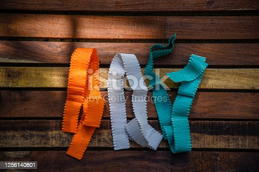 istock Indian Independence Day concept Indian Flag.15 August 1256140801