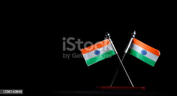 istock Indian Independence Day concept Indian Flag.15 August 1256140845