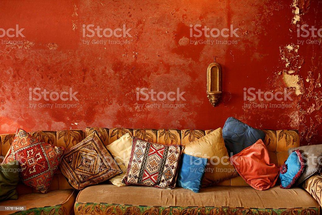 Indian Interior royalty-free stock photo