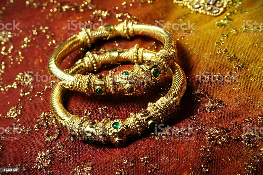 Indian Jewellery stock photo