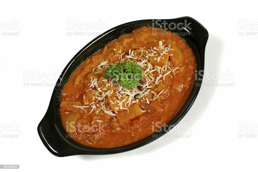 Indian Lamb Curry 1 royalty-free stock photo