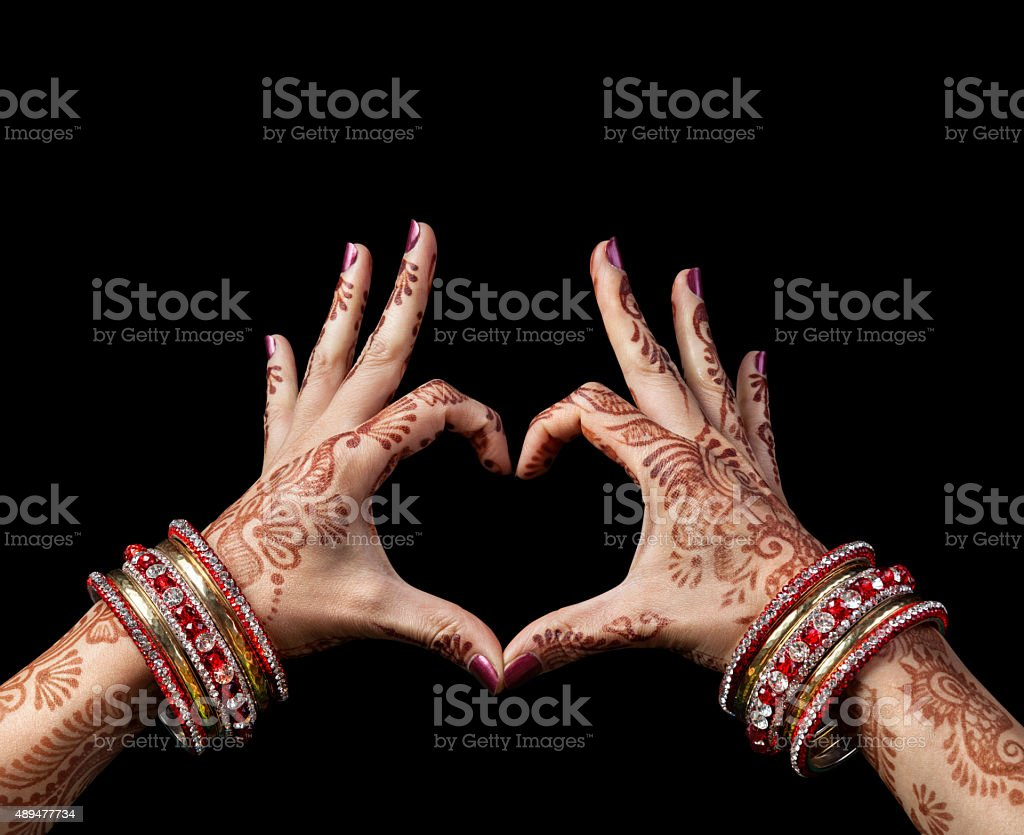 Indian love stock photo
