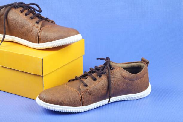 indian made shoe - modedetails stock-fotos und bilder