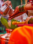 istock Indian Maharashtrian wedding 972007316