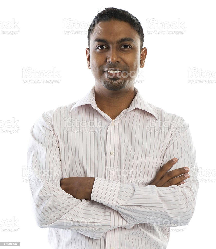 Indian man. stock photo