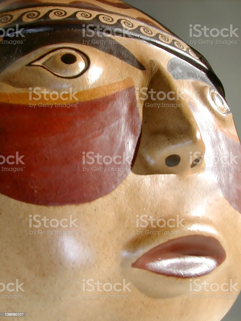 Indian Mask 2 royalty-free stock photo