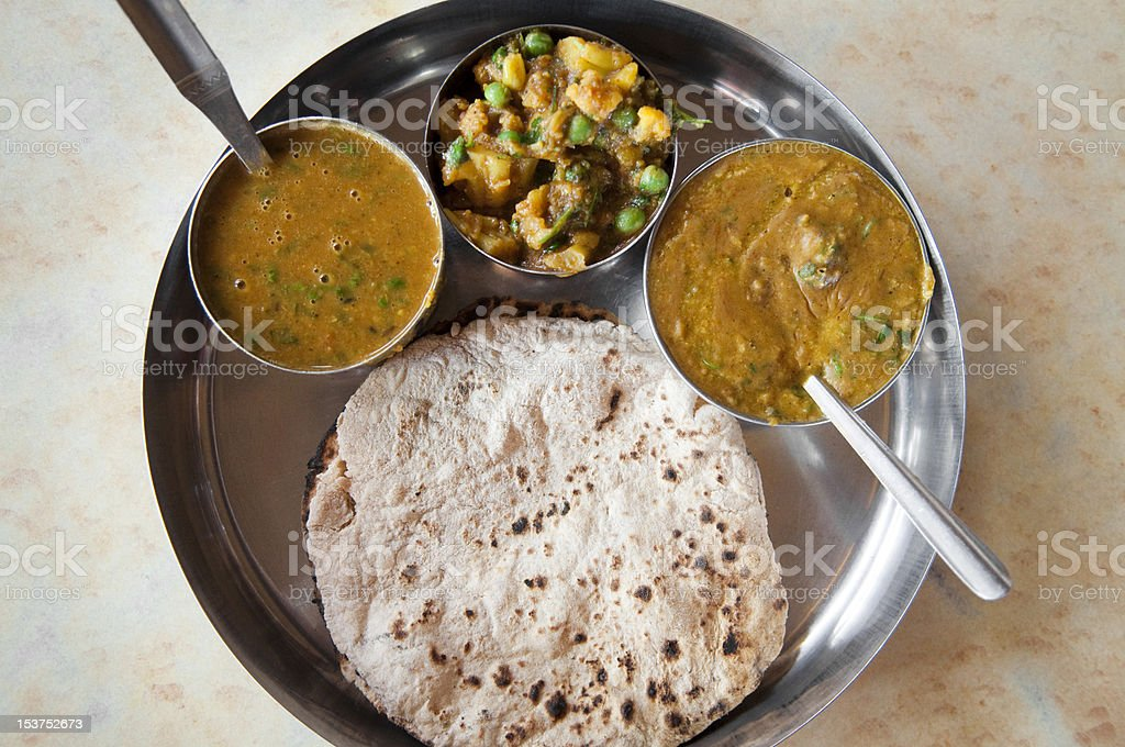 Indian Meal royalty-free stock photo