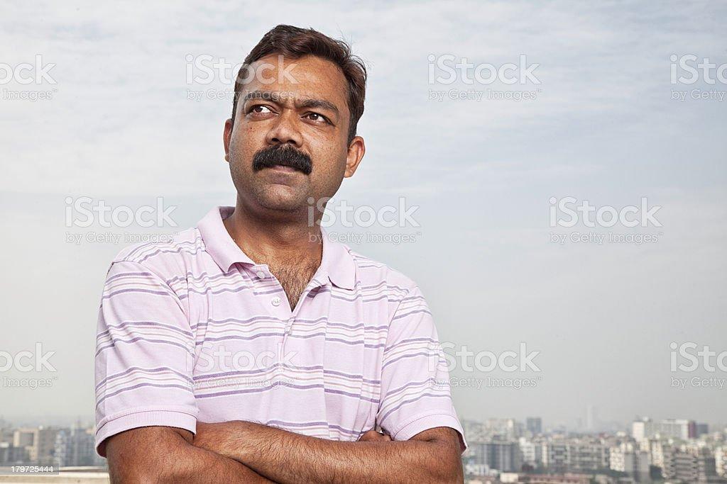 indian midadult man royalty-free stock photo