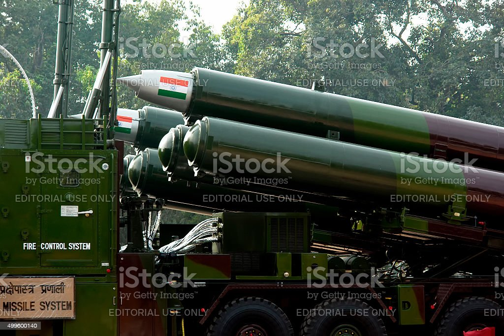 Indian Missiles stock photo
