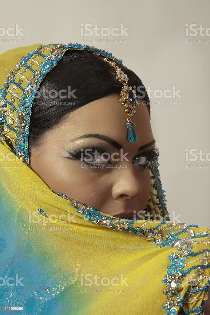 indian model royalty-free stock photo
