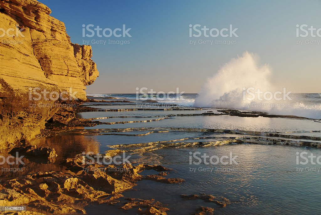 Indian Ocean Waves stock photo