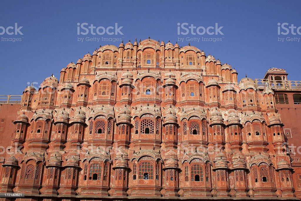 Indian Palace facade royalty-free stock photo