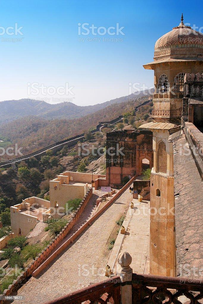 Indian palace stock photo