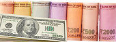 istock Indian paper currency kept together 1197494839