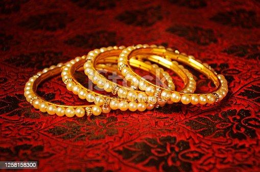 Indian  Pearl (moti) bangles