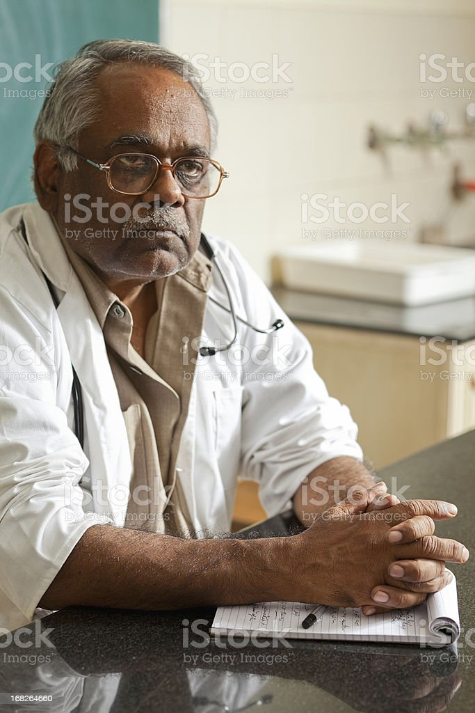 Indian Professor royalty-free stock photo