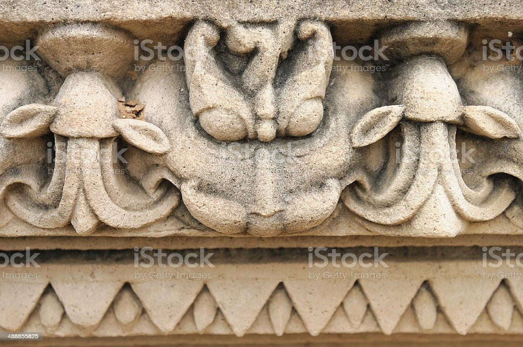 Indian Religious Symbols Stock Photo More Pictures Of Architecture