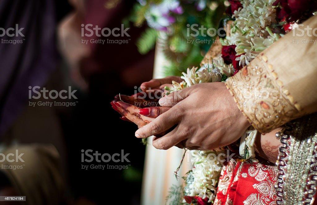 Indian rituals stock photo