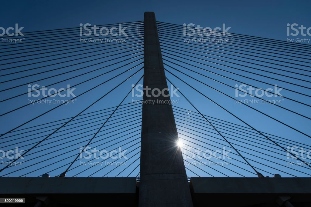Indian River Inlet Bridge Near Bethany Beach stock photo