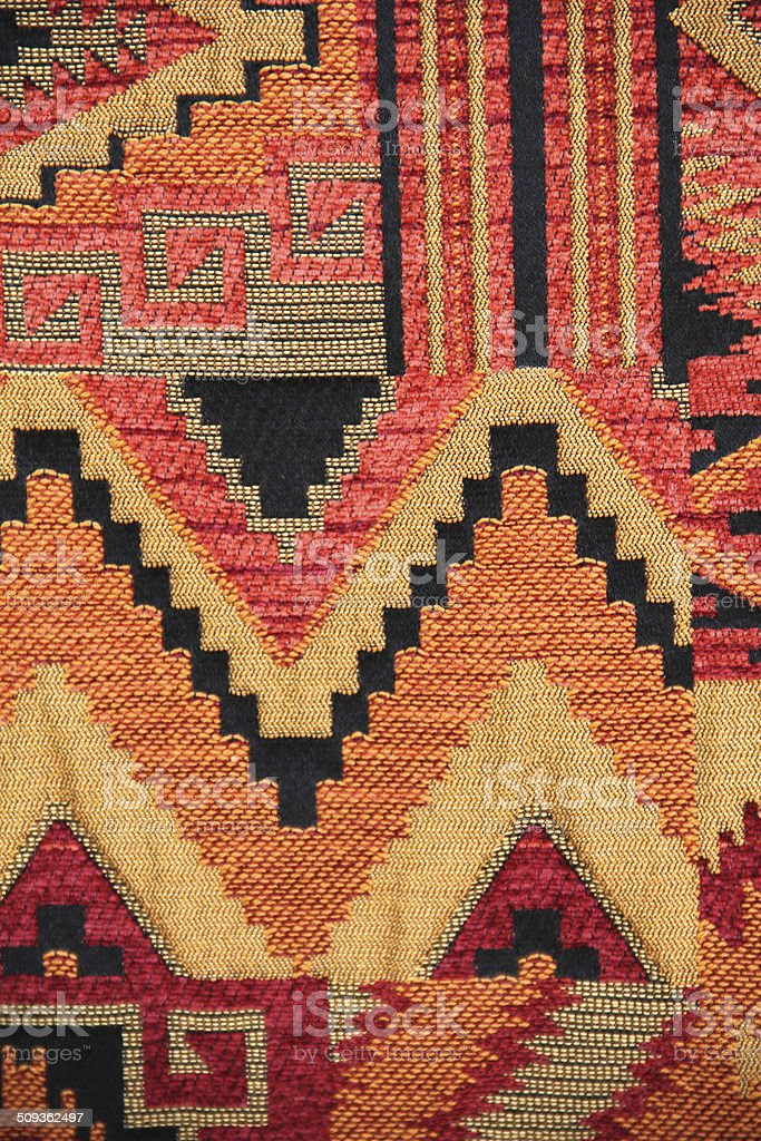 Indian Rug Navajo stock photo