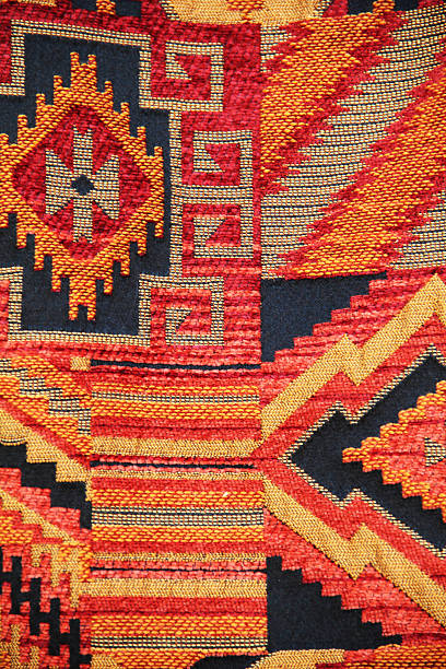indian rug navajo - navajo culture stock photos and pictures