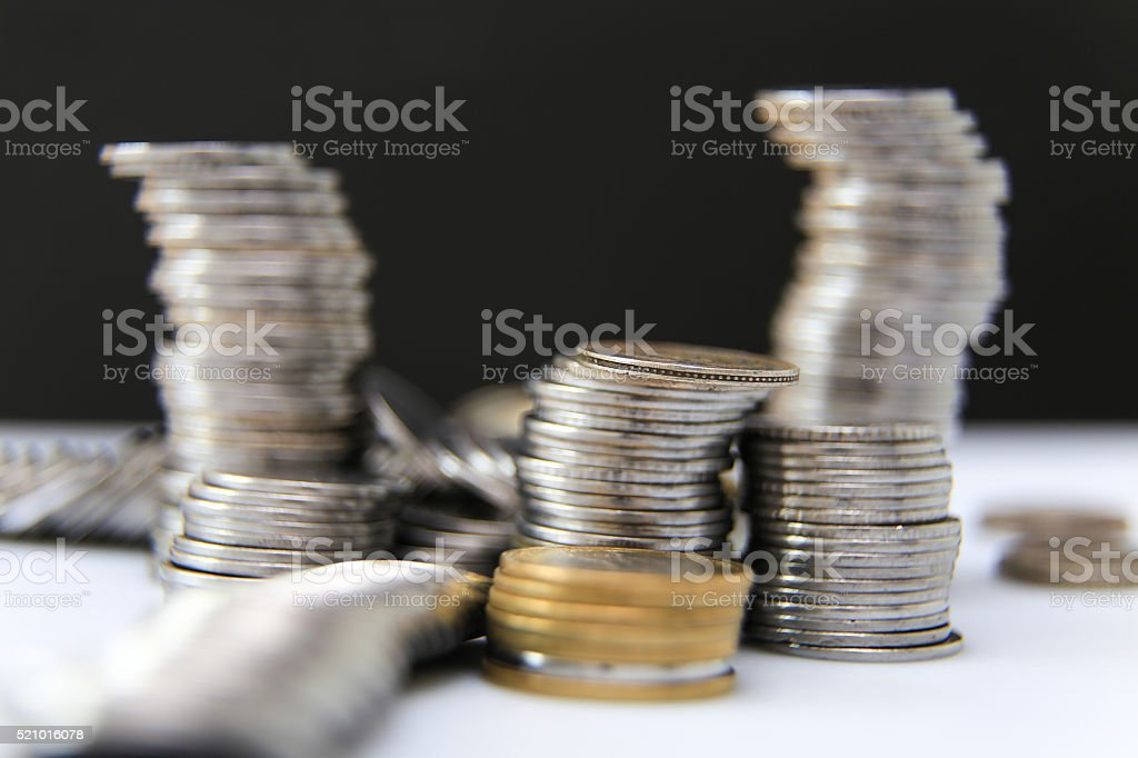 Indian rupee,  coins stock photo