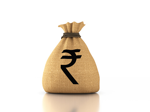 istock Indian Rupee Concept - 3D Rendered Image 926961932