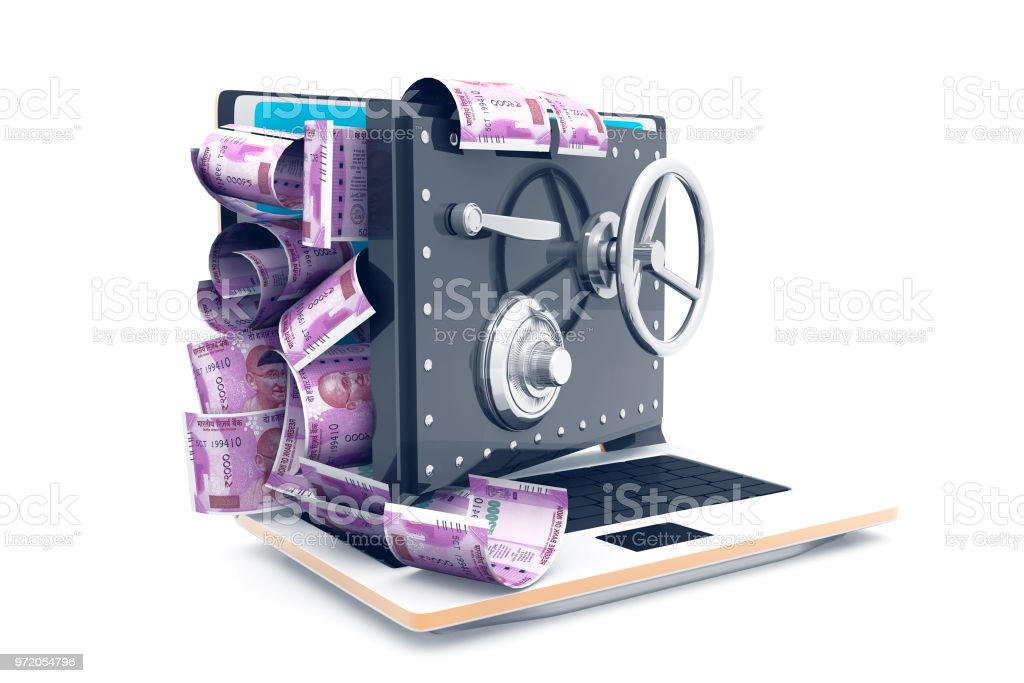 Indian Rupee Symbol And Banking Safe Stock Photo More Pictures Of