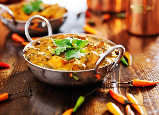 indian saag paneer curry - caril - fotografias e filmes do acervo