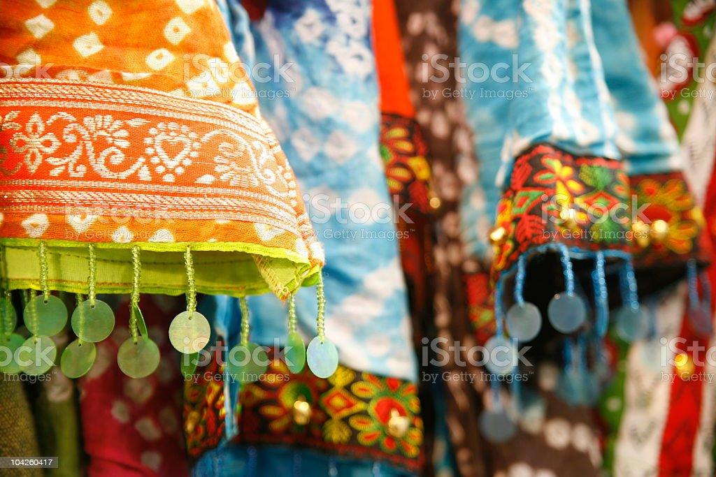 Indian Sari royalty-free stock photo