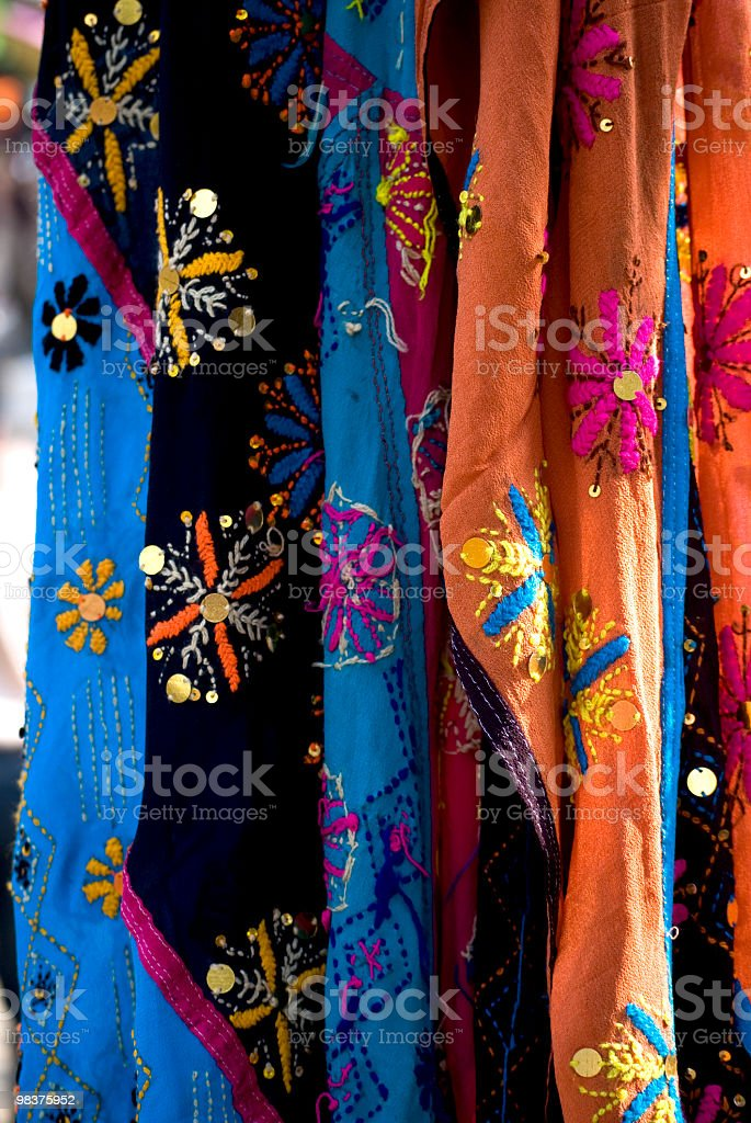 Indian Sari foto stock royalty-free