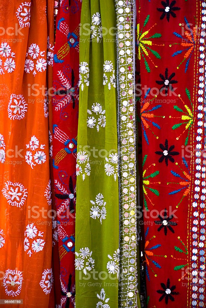 Indian Sari royalty-free stock photo