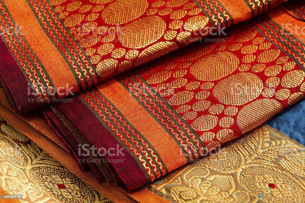 Indian saris stock photo