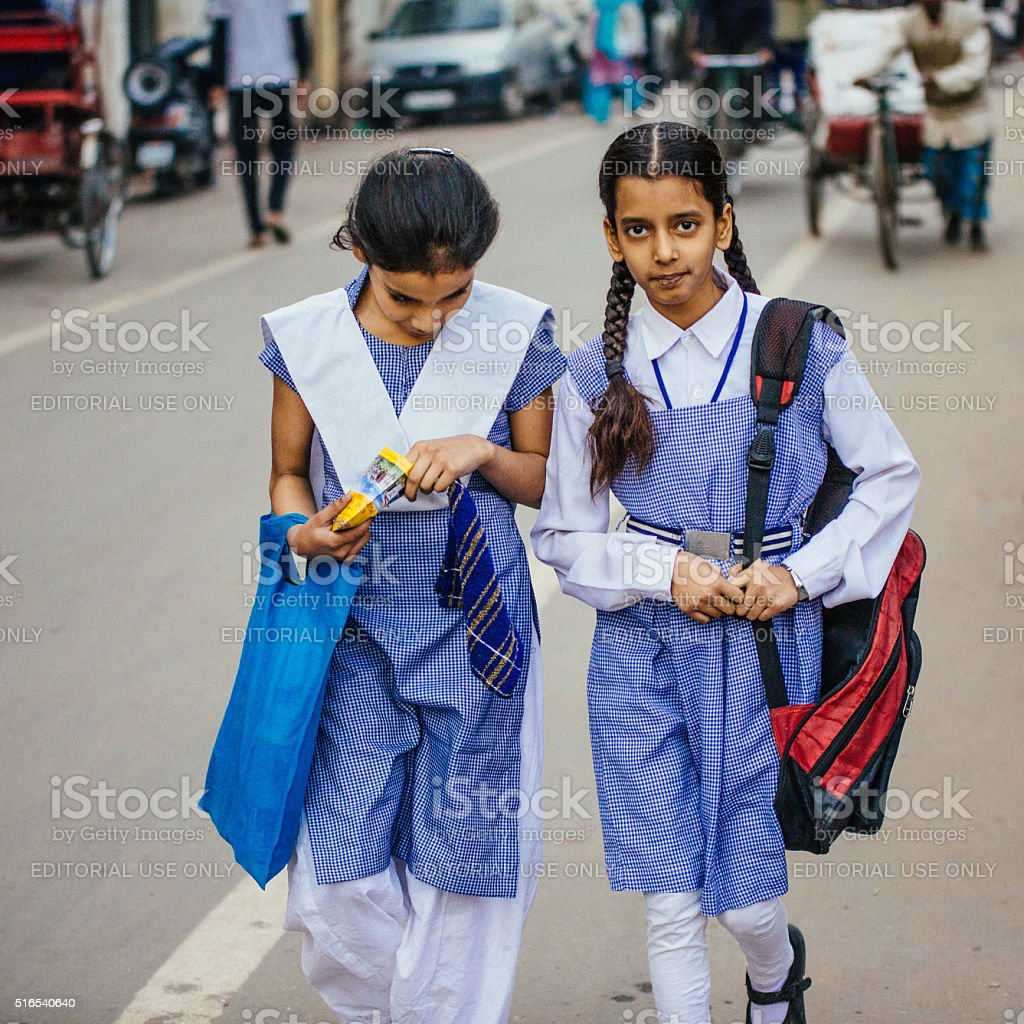 Indian School Girl Romance