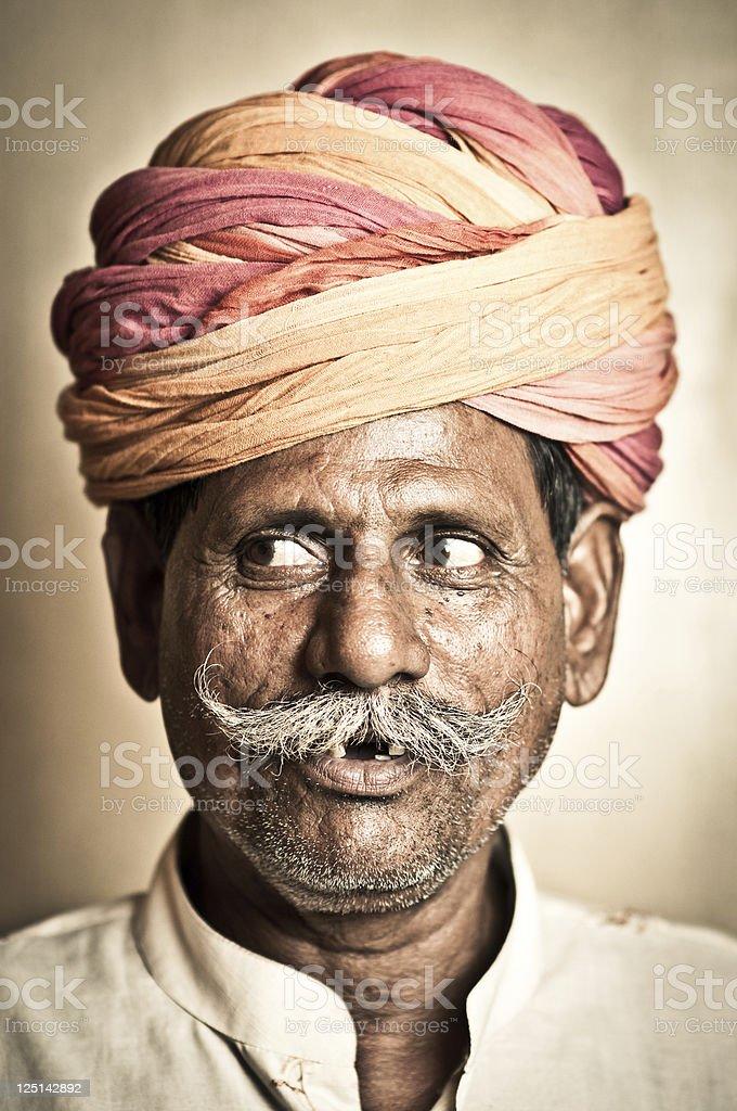 Indian Senior Man royalty-free stock photo