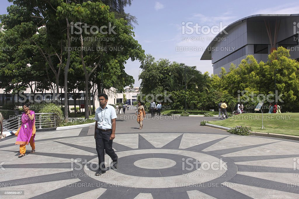 Indian software engineers going to the office royalty-free stock photo