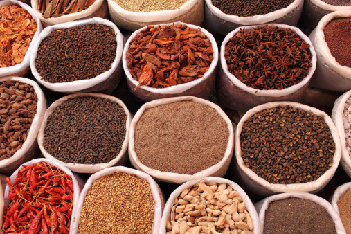 Indian Spices Stock Photo - Download Image Now