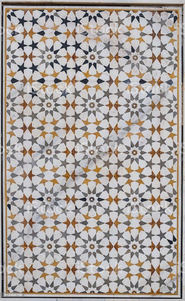 indian star pattern stock photo