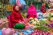 istock Indian street sellers in Kathmandu, Nepal 476196494