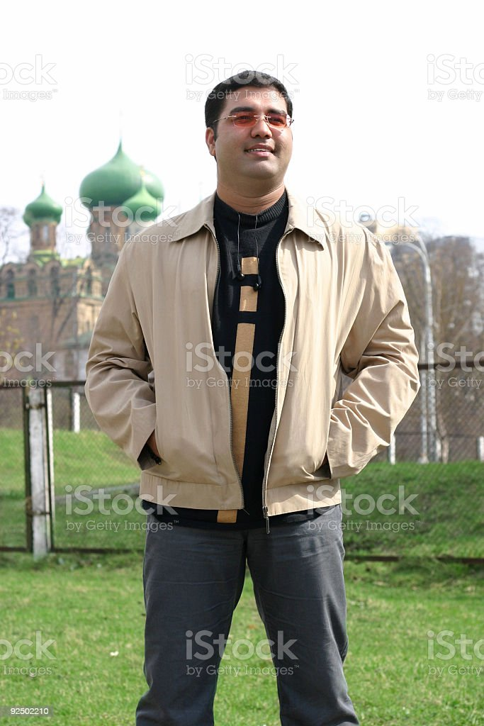 Indian student royalty-free stock photo