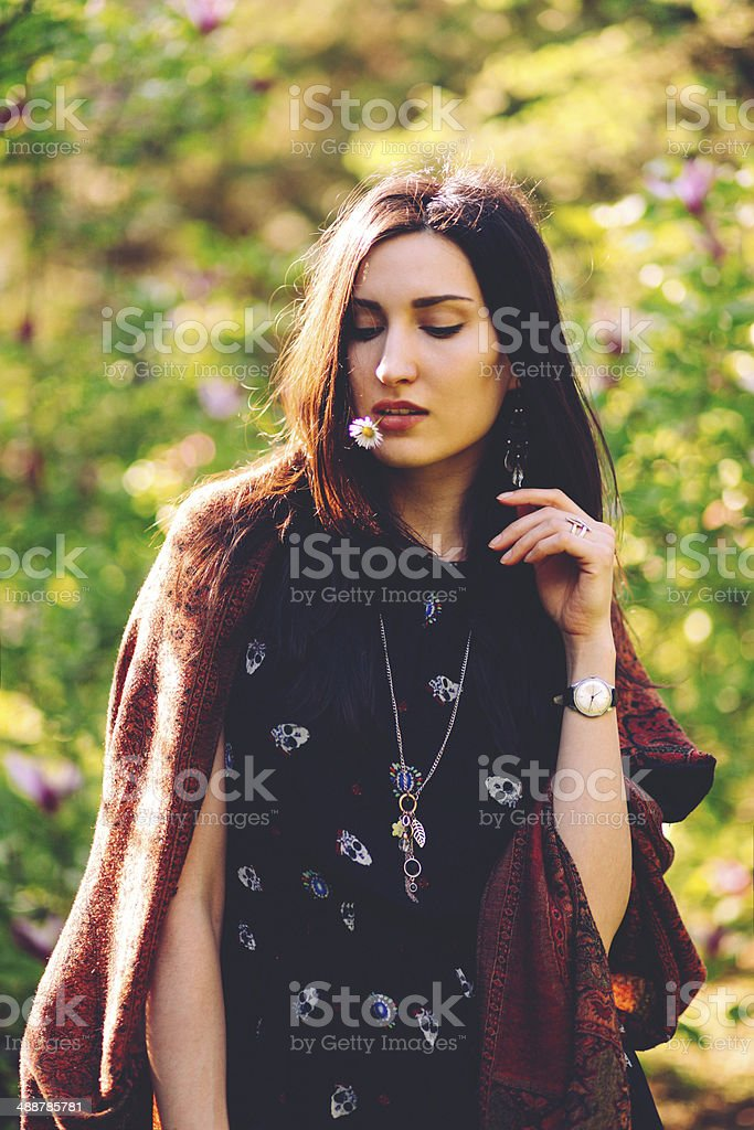 Indian Summer Fashion Stock Photo & More Pictures of Adult - iStock
