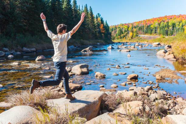 Été indien en Nouvelle Angleterre, White Mountain National Forest, Etats-Unis - Photo
